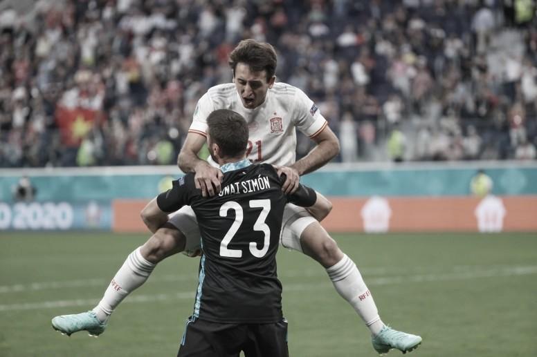 Goleiros roubam a cena e Espanha elimina Suíça da Eurocopa nos pênaltis
