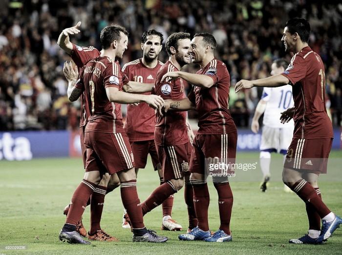 A caminho do Euro: Espanha