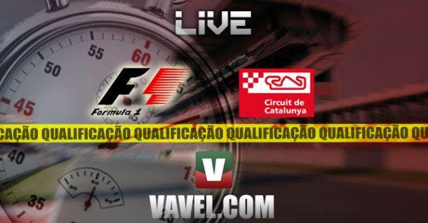 Qualificação GP Espanha 2014 em F1, directo