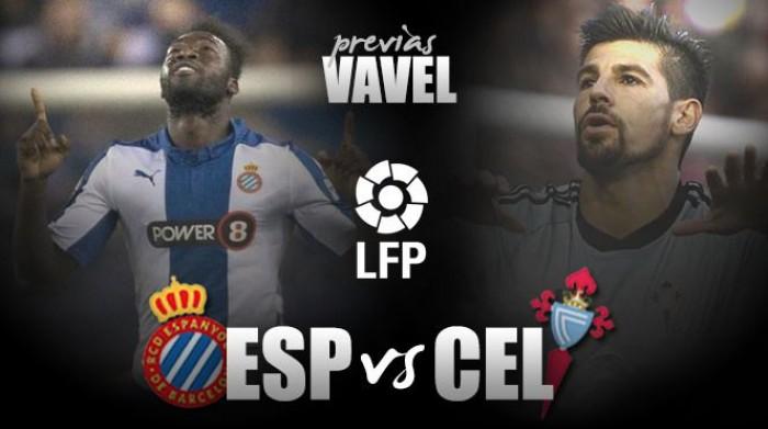Espanyol – Celta: una victoria por la permanencia