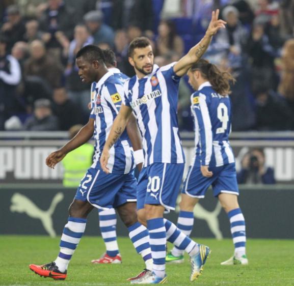 Espanyol -  Deportivo: puntuaciones del Espanyol, jornada 17