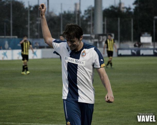 El Espanyol B vuelve a colocarse líder a costa del filial zaragocista
