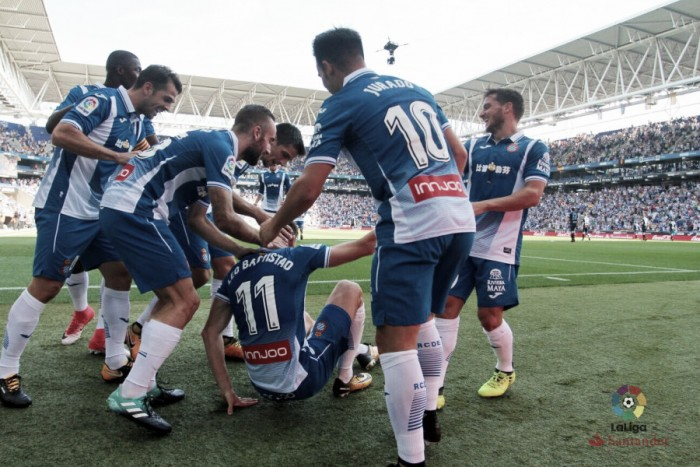 La eficacia del Espanyol se impone al ímpetu del Deportivo