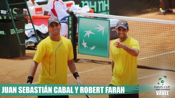 Camino a la Davis 2015: Juan Sebastián Cabal y Robert Farah