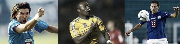 """Jugadores que han llegado de """"campeonar"""" a Cruz Azul"""