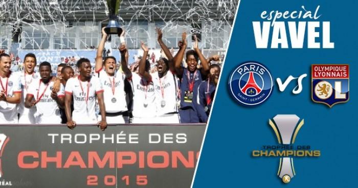 Paris Saint-Germain e Lyon se enfrentam pela SuperCopa da França