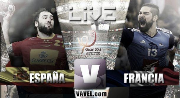 Mundial de Balonmano Qatar 2015 en vivo: España vs Francia en directo online