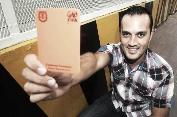 Fernando Espinoza será el árbitro