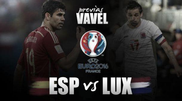 España - Luxemburgo: no esperar más