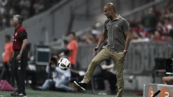 "Guardiola ""happy"" despite Bayern Munich defeat"