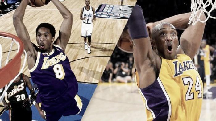 8 ou 24? Qual camisa de Kobe Bryant deve ser aposentada?