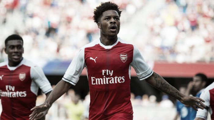 Chuba Akpom reflects on a positive individual pre-season with Arsenal