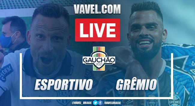 Gols e melhores momentos de Esportivo 0 x 2 Grêmio pelo Campeonato Gaúcho