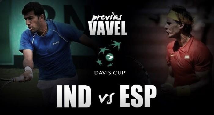 Copa Davis 2016. India vs España: la armada ante su gran desafío
