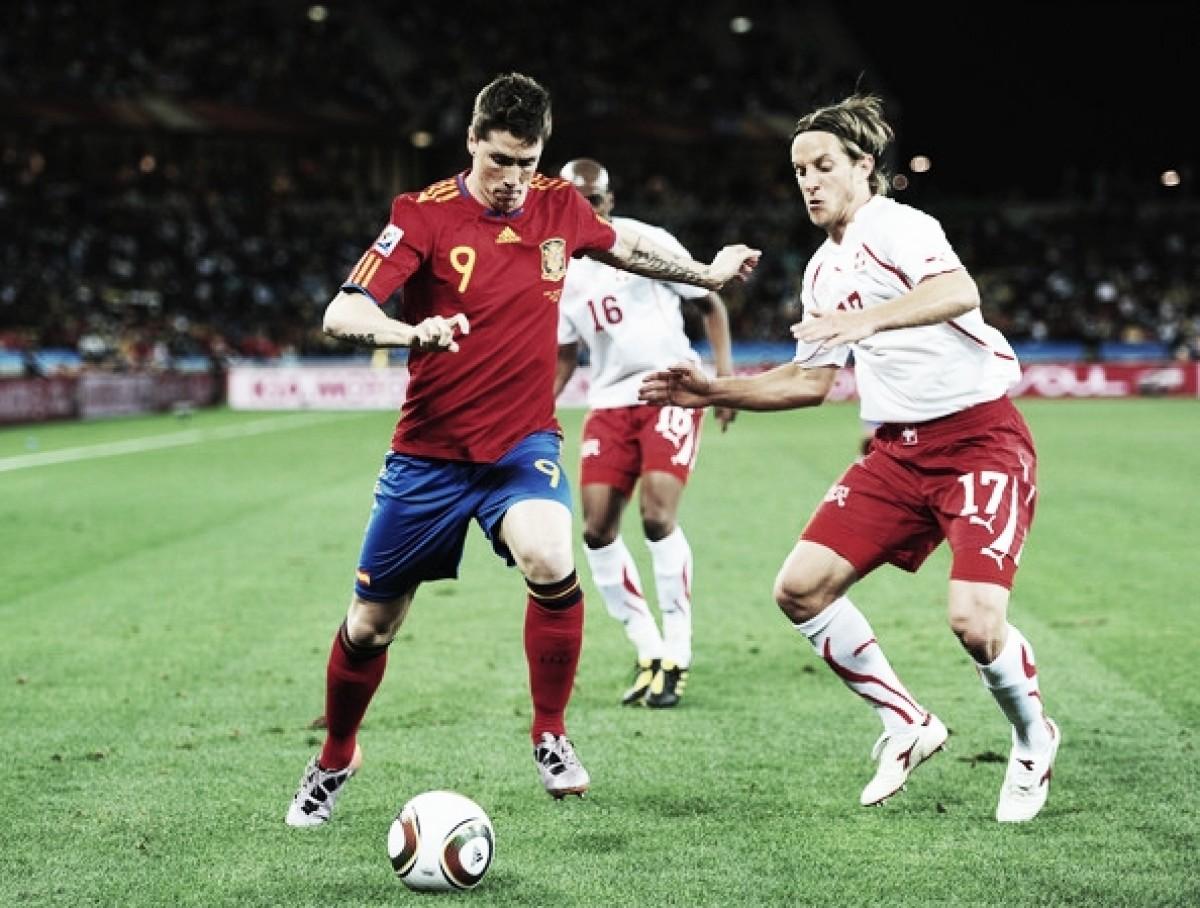 España - Suiza, un partido con mucha historia