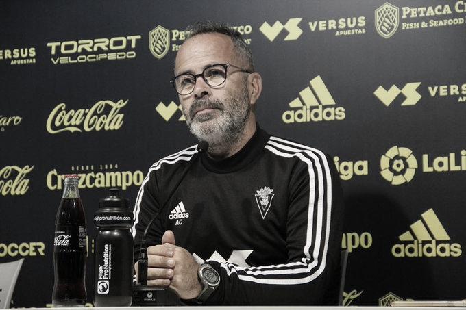 """Álvaro Cervera: """"El Lugo es un equipo diferente a lo que era antes"""""""