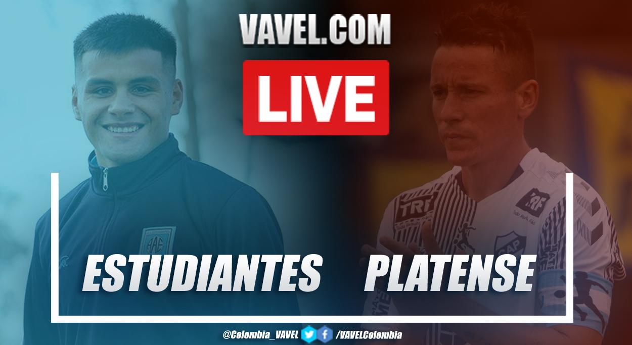 Resumen y goles: Estudiantes (RC) 1 (2)-(4) 1 Platense por la final de la Primera Nacional