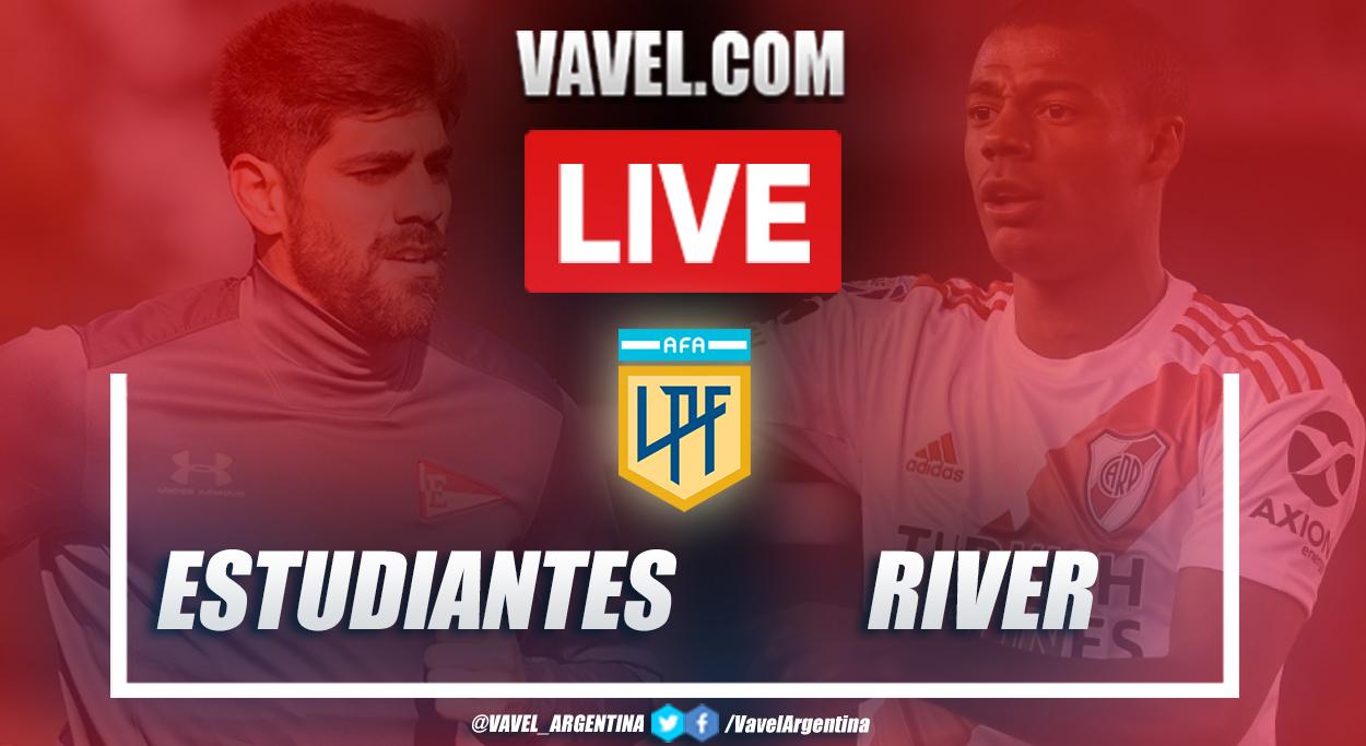 Resumen Estudiantes vs River (2-1) en la fecha 1 por Copa de la Liga Profesional 2021