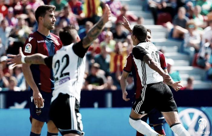 El derbi valenciano se resuelve con un reparto de puntos