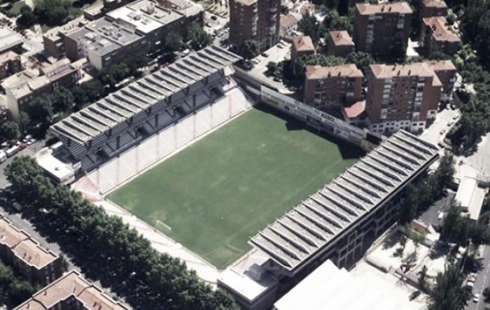 Las obras en el estadio de vallecas for Obra nueva ensanche de vallecas