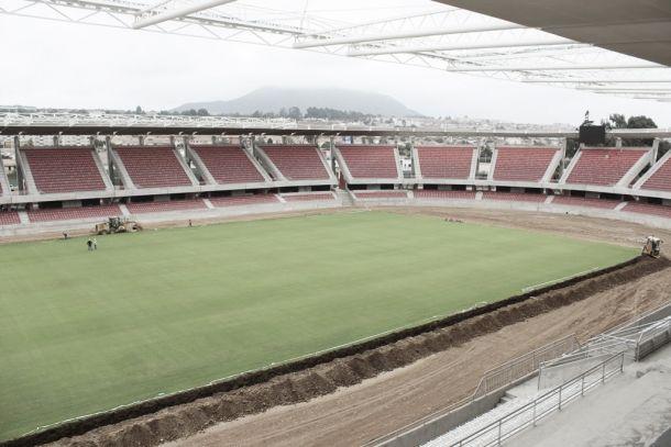 La Portada, estadio donde debutará la Argentina