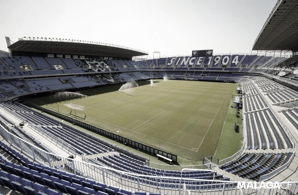 El Málaga ofrece su estadio como centro de vacunación
