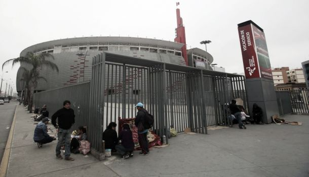 Precio de entradas para el Perú - Chile en Lima