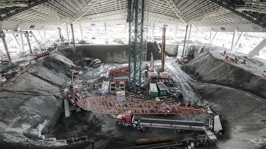 A toda máquina las obras del nuevo arena de Seattle