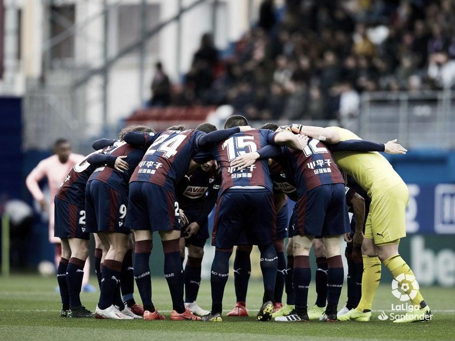La temporada 2018-2019 del Eibar en estadísticas