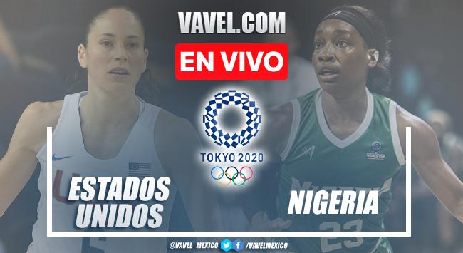 Resumen y mejores momentos del Estados Unidos 82-71 Nigeria en Tokio 2020