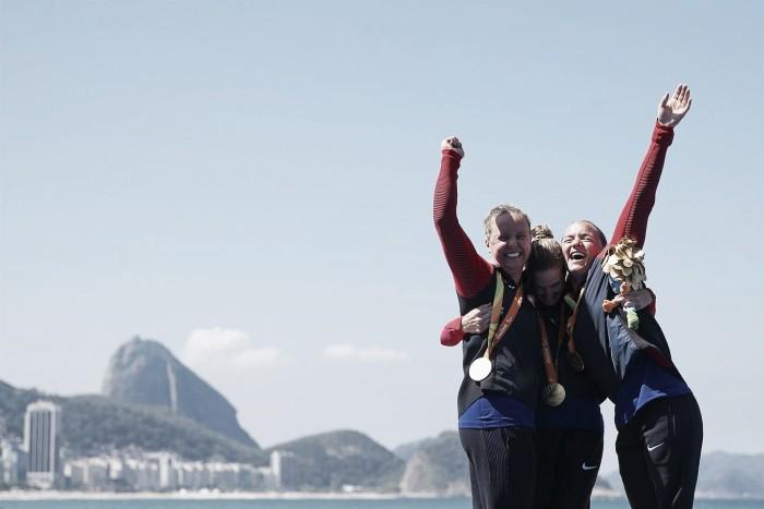 Estados Unidos domina último dia do triatlo na Paralimpíada