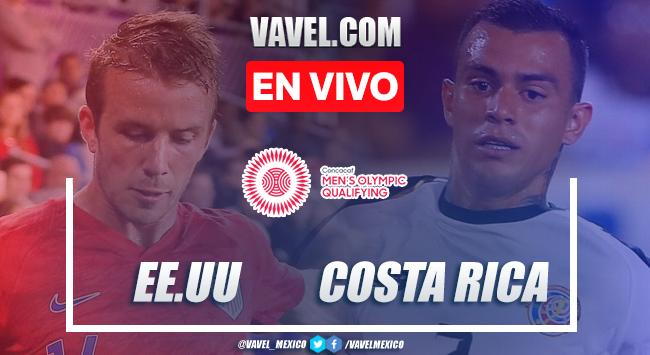 Gol y resumen: Estados Unidos 1-0 Costa Rica en Preolímpico CONCACAF 2021
