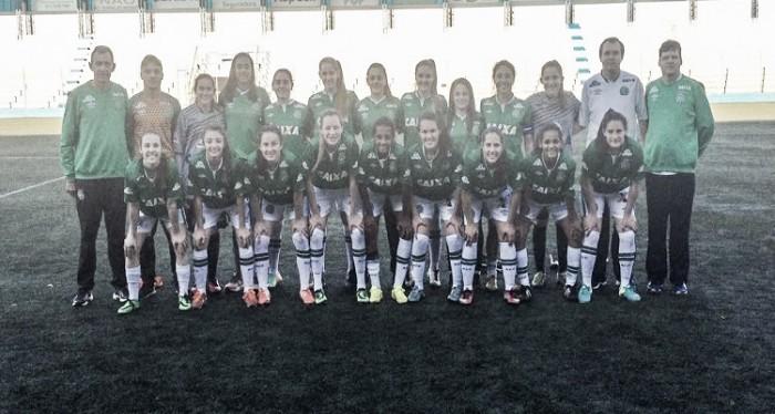Chapecoense reage e busca empate do Estância Velha na estreia da Copa do Brasil Feminina