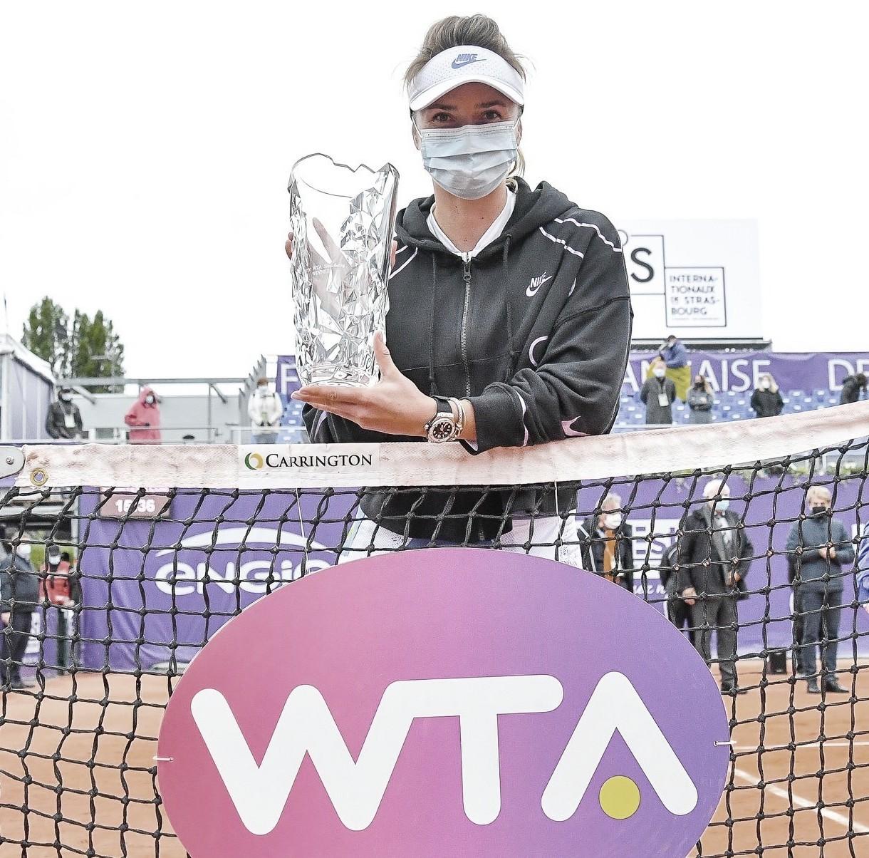 Svitolina alza su título15en Estrasburgo