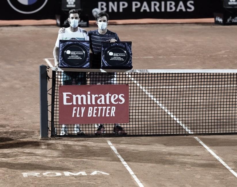 Zeballos y Granollers, campeones en dobles