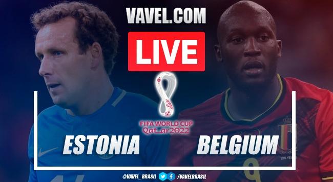 Goals and Highlights Estonia vs Belgium (2-5) | 09/03/2021