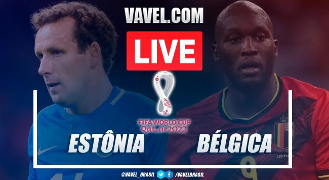 Gols e Melhores Momentos de Estônia x Bélgica (2-5)