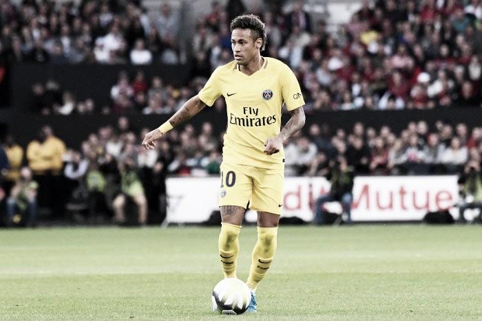 A estreia dos sonhos: com gol e assistência de Neymar, PSG vence Guingamp pela Ligue 1