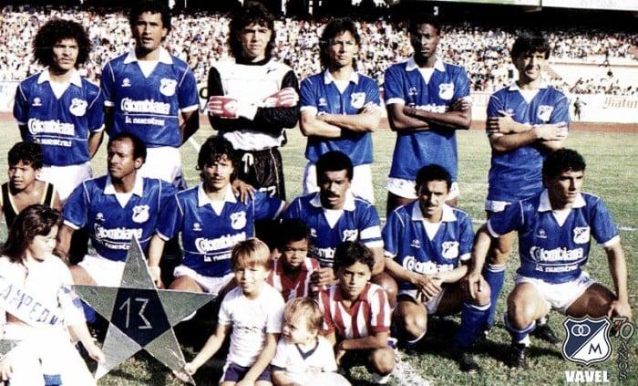 Las 13 estrellas: Los 50 años de Millonarios (1987-1996)