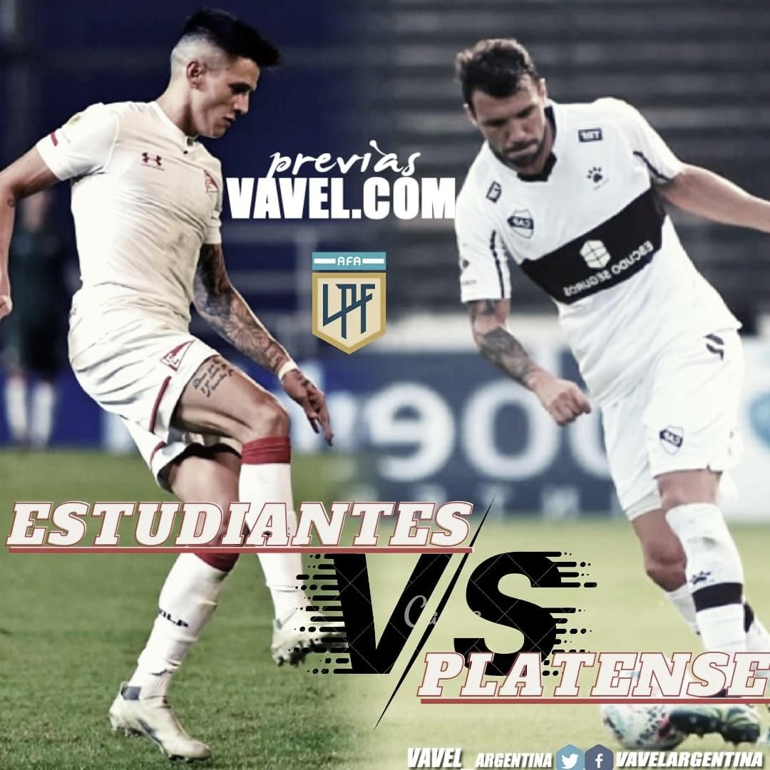 """Estudiantes recibe al """"Calamar"""", en busca de asegurarse una plaza para los cuartos de final de la Copa de la Liga 2021"""