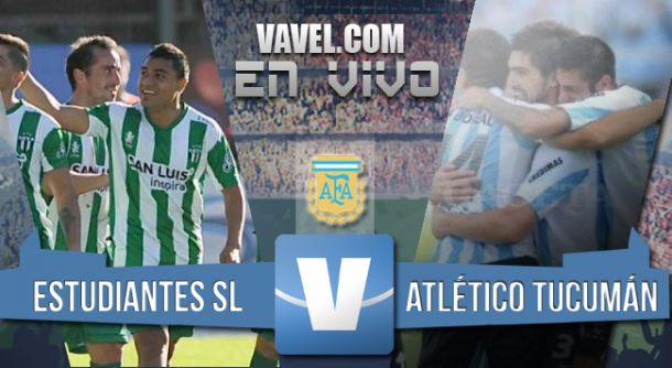 Resultado Estudiantes de San Luis - Atlético Tucumán (1-1)
