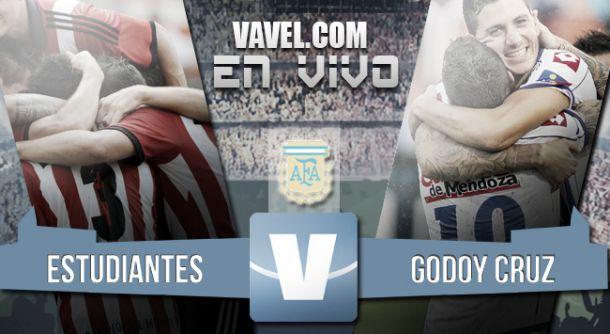 Resultado Estudiantes de La Plata - Godoy Cruz (2-1) 2015