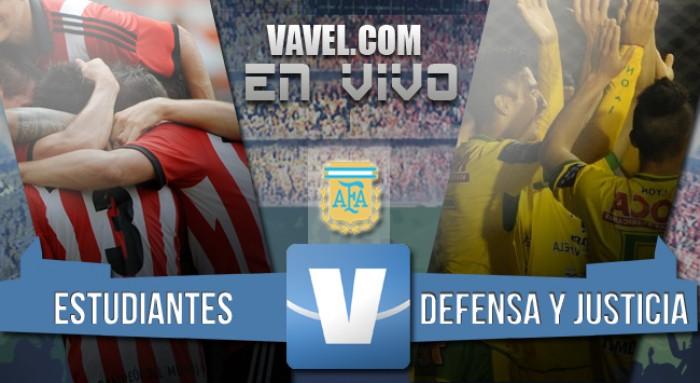 Estudiantes de La Plata 2 - Defensa y Justicia 1