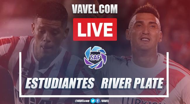 Estudiantes de la Plata vs River Plate EN VIVO: cómo ver transmisión online por la SuperLiga (0-2)