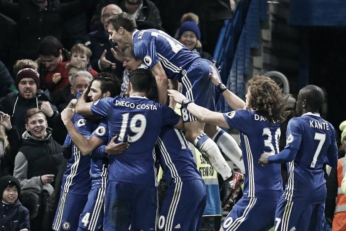 Chelsea, tredicesima vittoria per il club di Antonio Conte