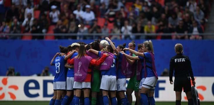Women's World Cup: Australia 1-2 Italy