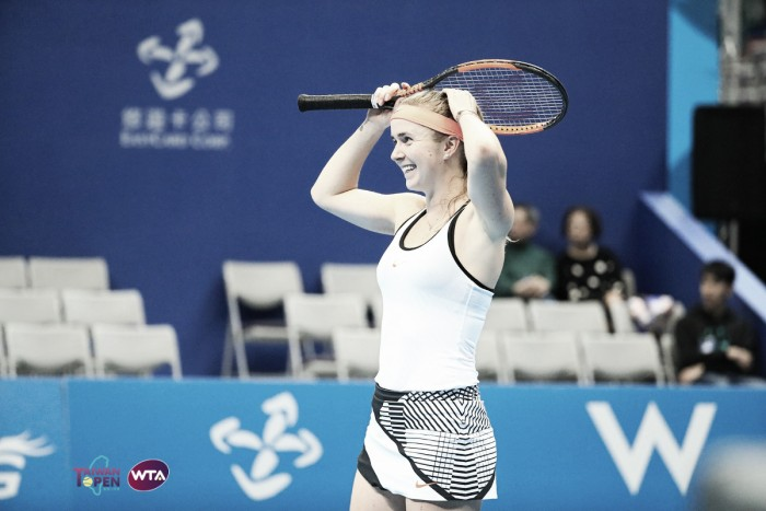 WTA Taipei: Elina Svitolina strolls to the title with victory over Peng Shuai
