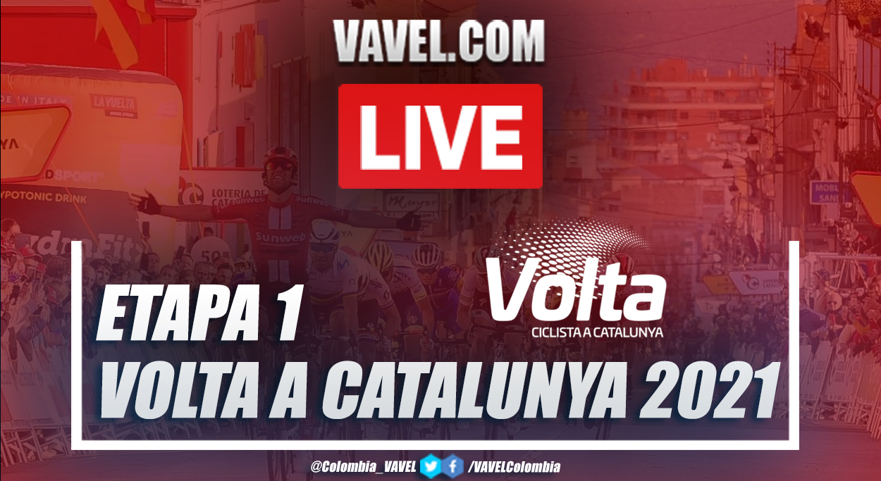 Resumen etapa 1 Volta a Catalunya 2021 en Calella