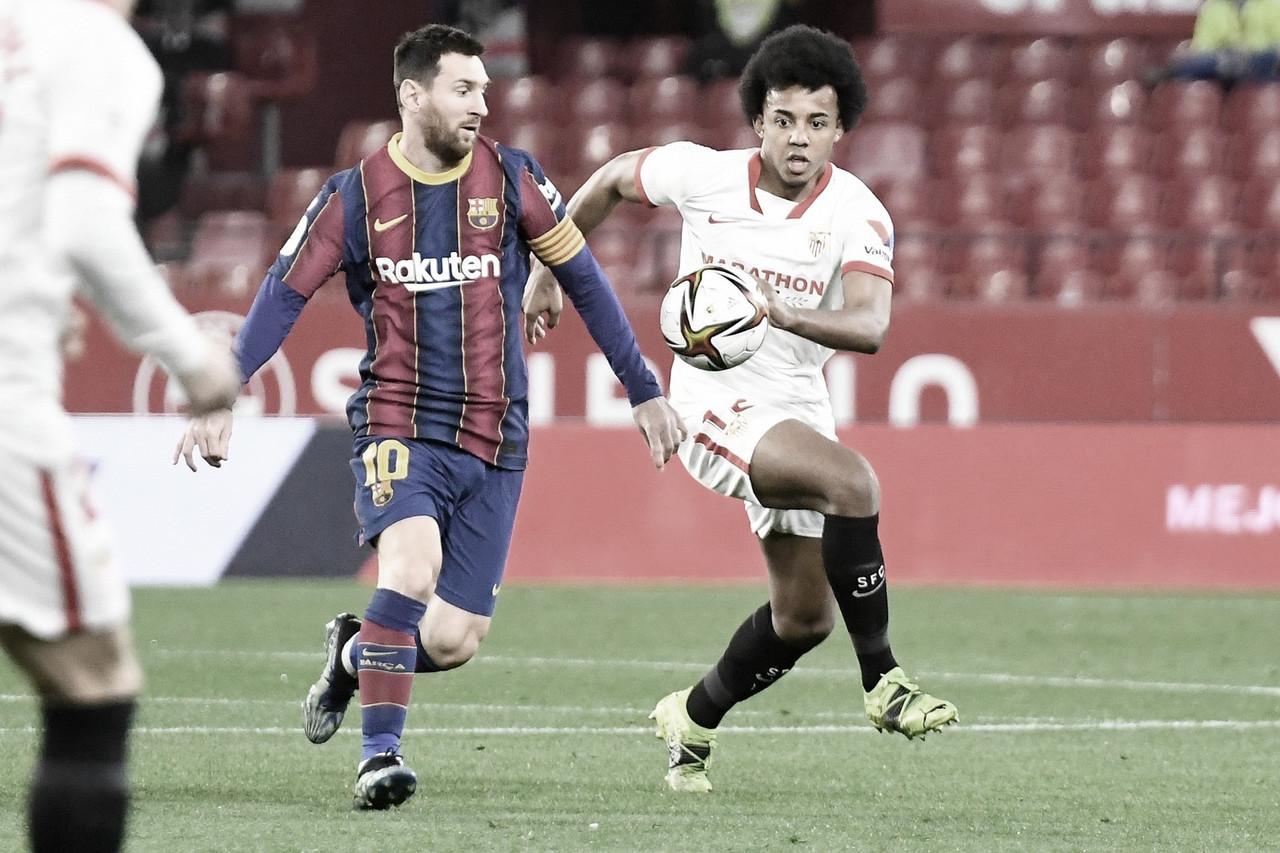 Sevilla FC - FC Barcelona; puntuaciones de las semifinales de Copa del Rey