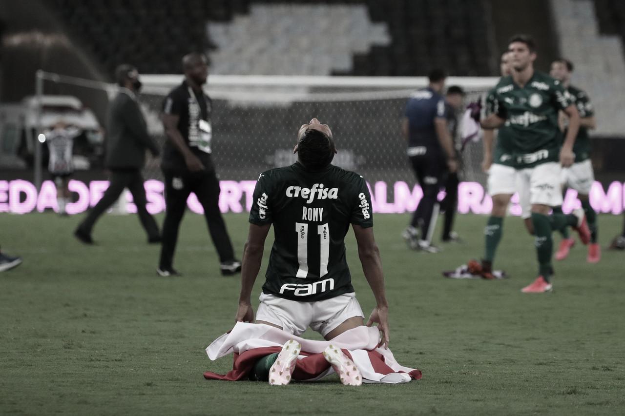 Breno Lopes decide no fim, Palmeiras vence Santos em jogo truncado e conquista bicampeonato da Libertadores